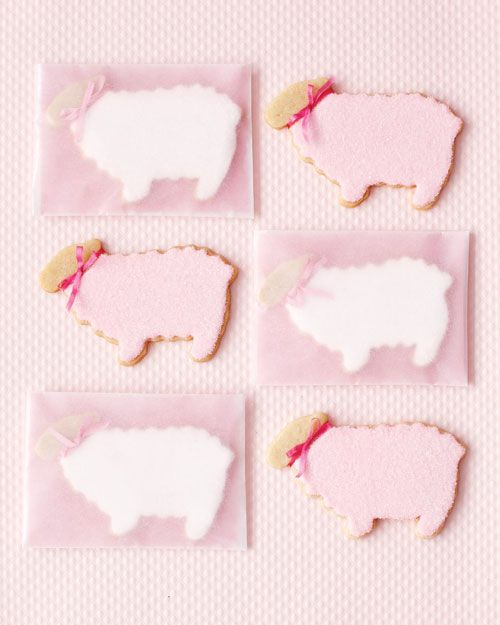 Little Lamb sugar cookies