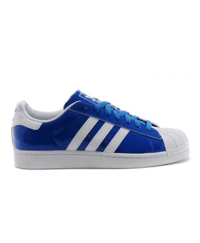 Adidas Originals Classic Superstar 2 Bleu Blanche Casual D65603