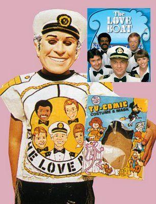 A Gavin MacLeod Costume...YES! #LoveBoat