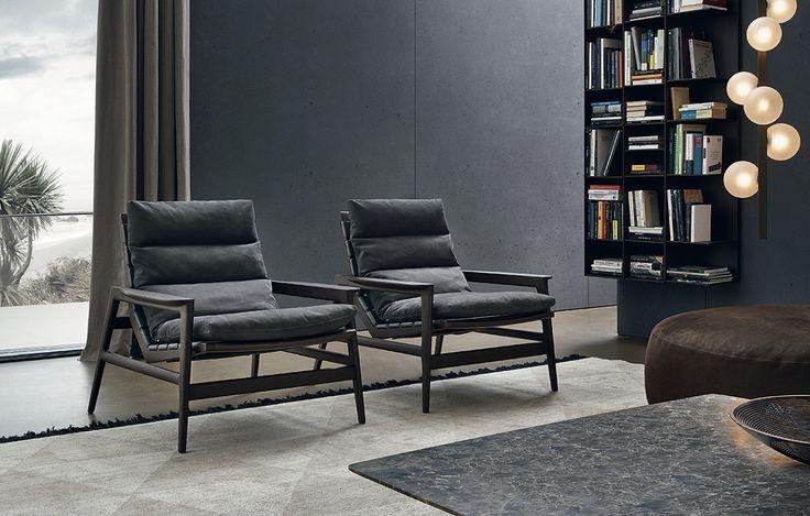 Ipanema Armchair, designed by Jean-Marie Massaud