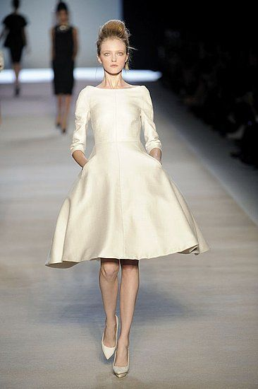 Beautiful cream colored dress with pockets