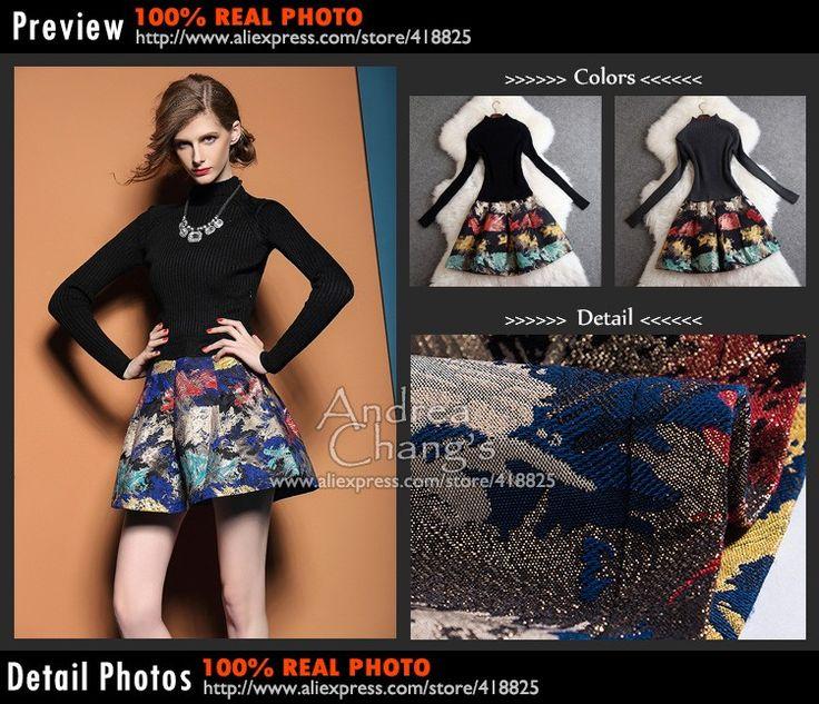 2014 sonbahar kış tasarımcı hanım elbiseleri gri siyah örme üst kırmızı sarı mavi soyut desen baskı moda marka elbise - http://www.geceelbisesi.com/products/2014-sonbahar-kis-tasarimci-hanim-elbiseleri-gri-siyah-orme-ust-kirmizi-sari-mavi-soyut-desen-baski-moda-marka-elbise/