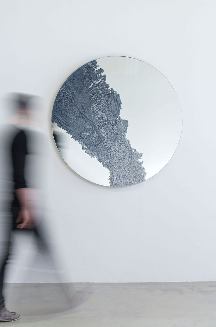 <p>F/Ms studio is interested in sculptural objects and conceptual design that meticulously merge indoors and out, raw and polished, high quality and industrial design. The studio's Drift mirror