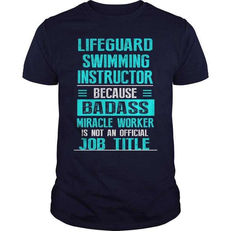 LIFEGUARD SWIMMING INSTRUCTOR T-Shirts, Hoodies. GET IT ==► https://www.sunfrog.com/LifeStyle/LIFEGUARD-SWIMMING-INSTRUCTOR-Navy-Blue-Guys.html?id=41382
