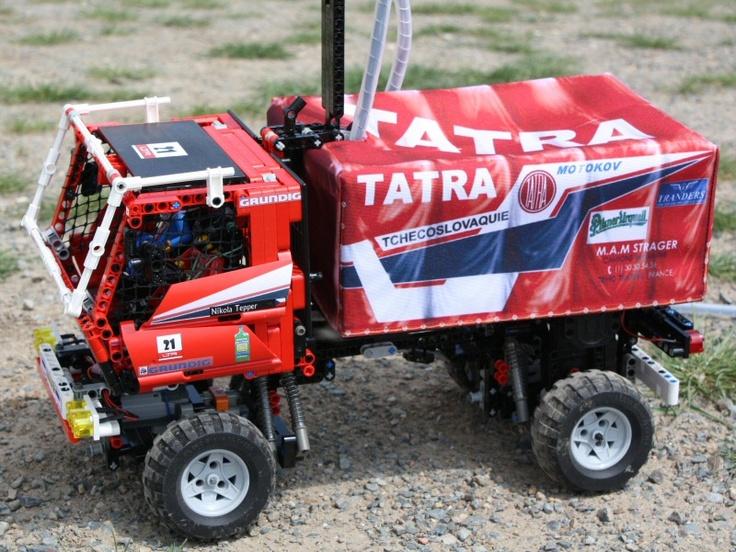 TechnicBRICKs: Camion Tatra
