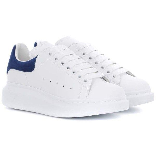 Alexander McQueen Leather Sneakers (1