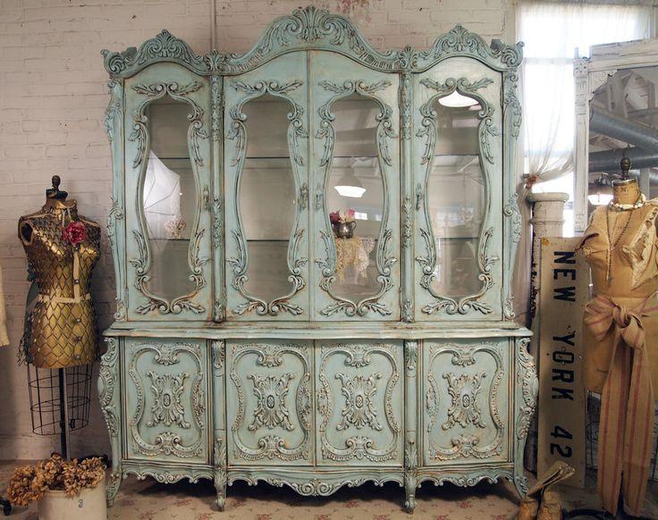 291 best China Cabinet images on Pinterest | Antique furniture ...