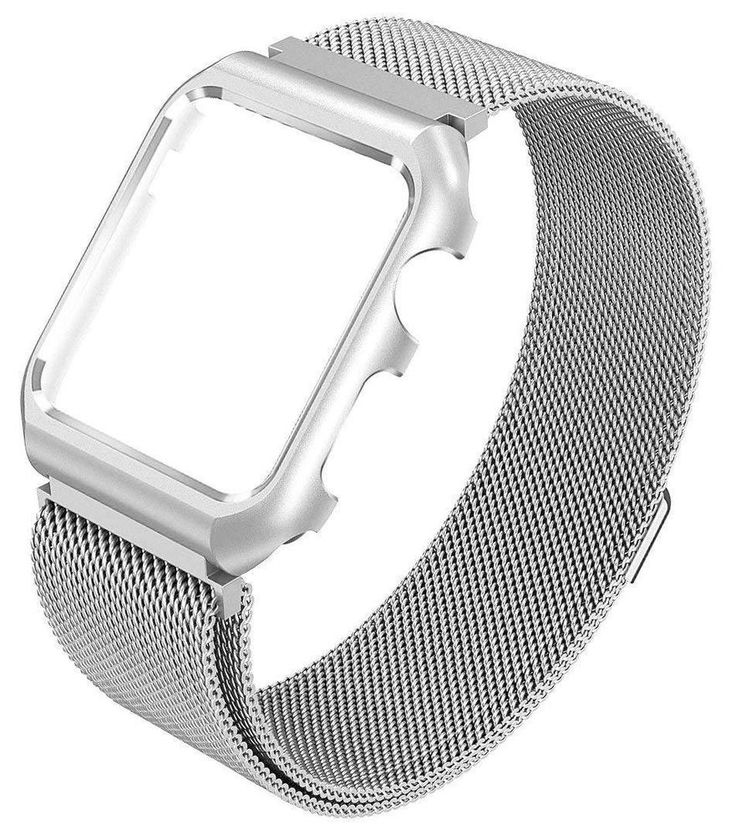 Milanese Stainless Steel Case Wrist Bands for Appl e Watch