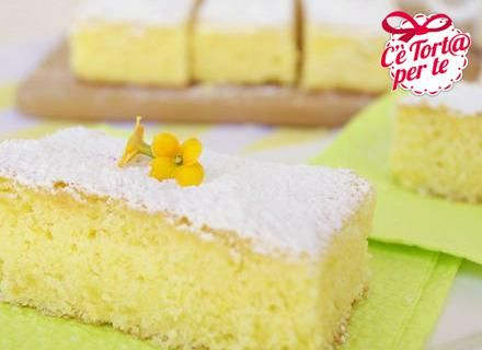 Torta soffice limone