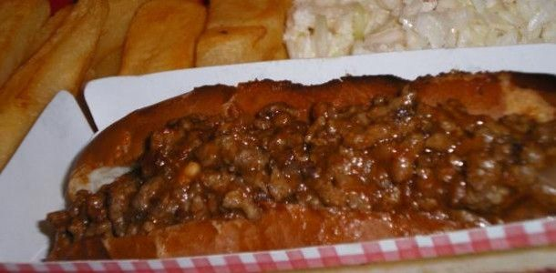 Hot dog sauce. I love hot dogs with any toppings!!!