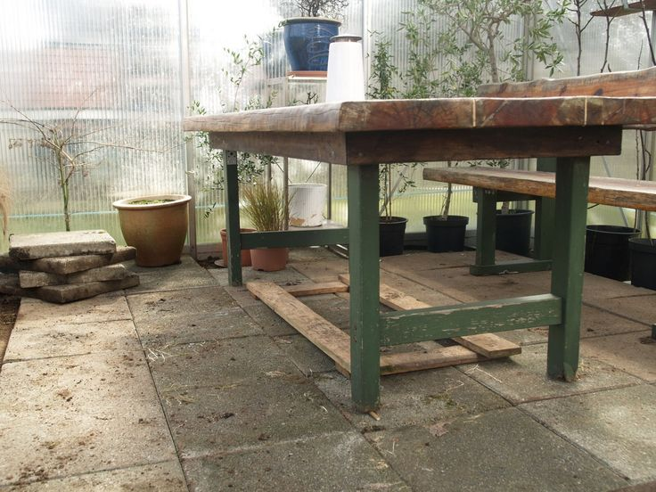 Our greenhouse. We've had a few potted olive and fig trees out here during the winter, and they have survived the cold! March 27th 2016