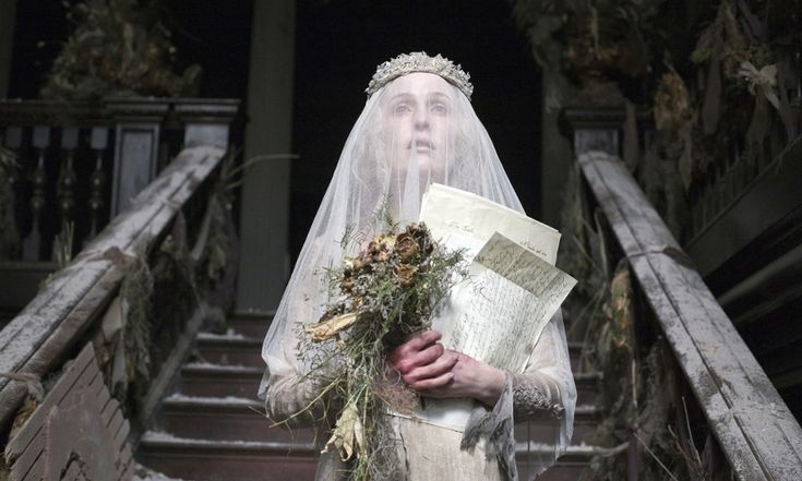 """Gillian Anderson as Miss Havisham in Great Expectations. Photograph: Nicola Dove (Source: The Guardian """"Gillian Anderson on therapy, rebellion and 'being weird'"""""""