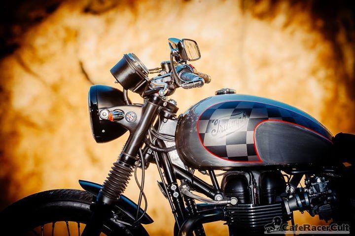 #motorcycle #restoring #customizing #triumph