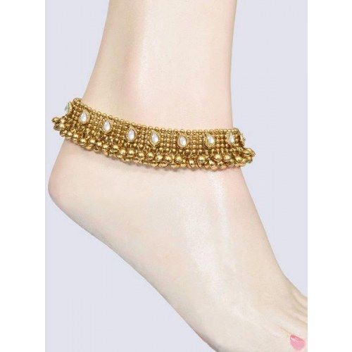 Anklets  | Indian style bridal gold inspired