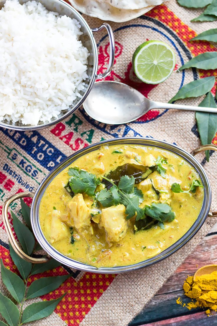 16. Quick Fish Curry #paleo #dinner #recipes…