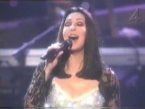 Cher, The Shoop Shoop Song, 1999. She sang this on a Navy ship it was beautiful