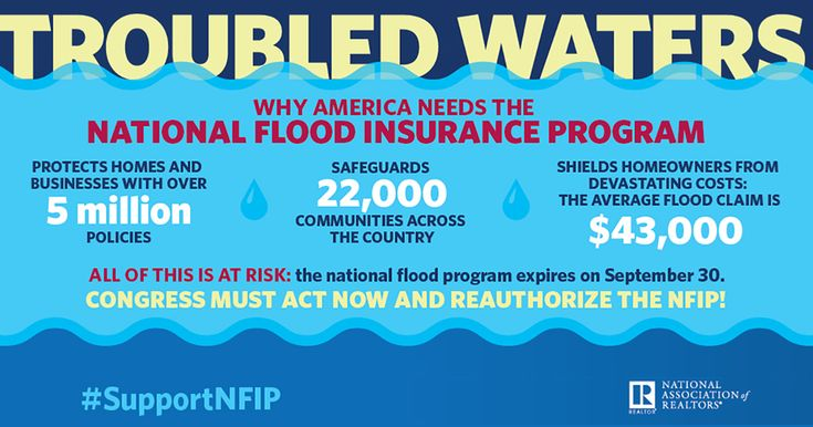NAR is working with federal regulators and Congress to strengthen the National Flood Insurance Program and clear the way for a private market.