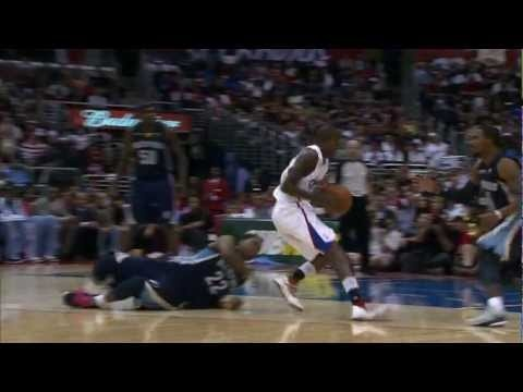 Video : Jamal Crawford Breaks Rudy Gay's Ankles