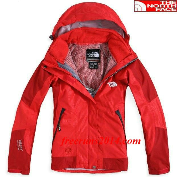 The North Face Womens Detachable Parka Red     #Red  #Womens #Sneakers