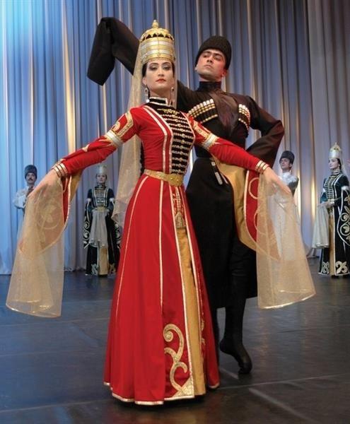 Кавказский костюм фото