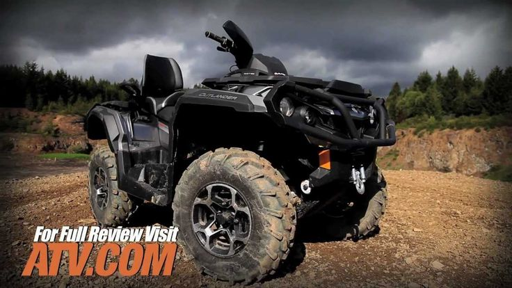 2013 Can-Am Outlander MAX 1000 ATV Review