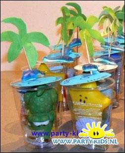 tropische verassing - Hawaii feest, Strandfeest, Traktatie snoep, Traktaties - En nog veel meer traktaties, spelletjes, uitnodigingen en versieringen voor je verjaardag of kinderfeest op Party-Kids.nl