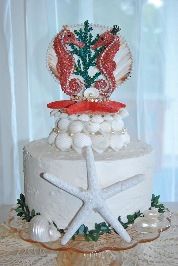 50 best Cake toppers images on Pinterest | Beach themes, Wedding ...