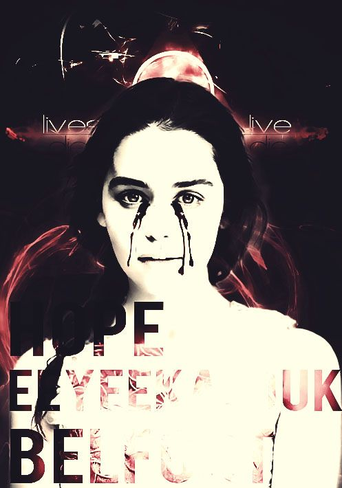 Hope E. Belfort (Emilia Clarke) - VICTIM SIDE