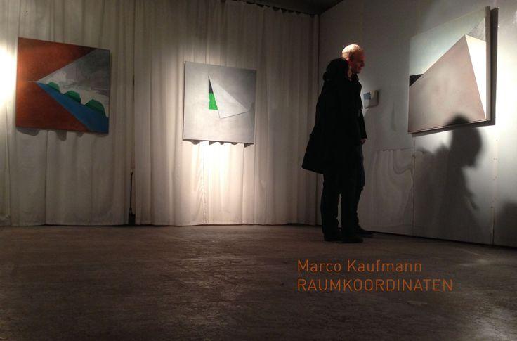 "painting exhibition ""RAUMKOORDINATEN"" of Marco Kaufmann at Studio Kunst & Kommunikation, Berlin Weissensee  private viewing by appointment until Monday: +4915159244921"