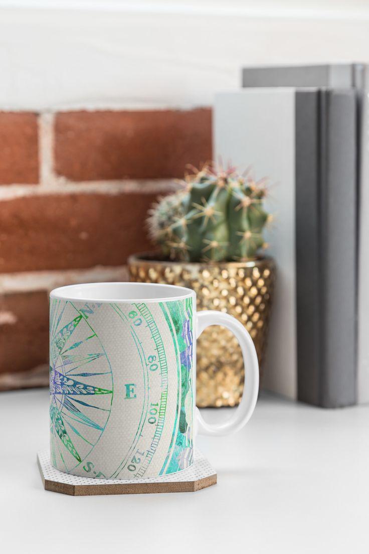 Harrison Follow Your Own Path Mint Coffee Mug