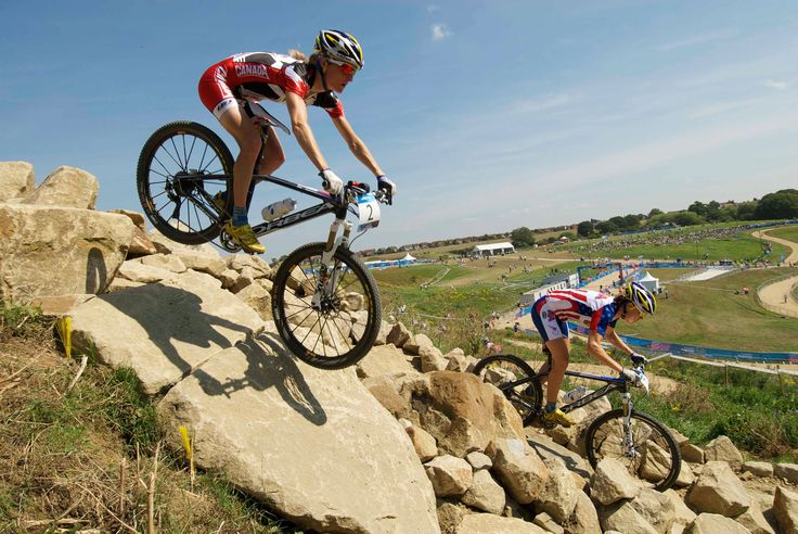 London, a city without mountains, is hosting Olympic mountain biking. That meant building a mountain. Here's how they did it.