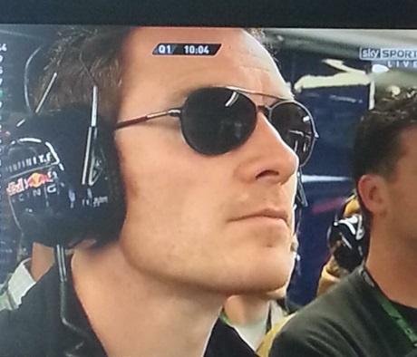 Michael Fassbender | F1 Grand Prix | Montreal | 6.8.13   (source: http://fassdongfantasies.tumblr.com/post/52472715750/michael-fassbender-f1-grand-prix-montreal)