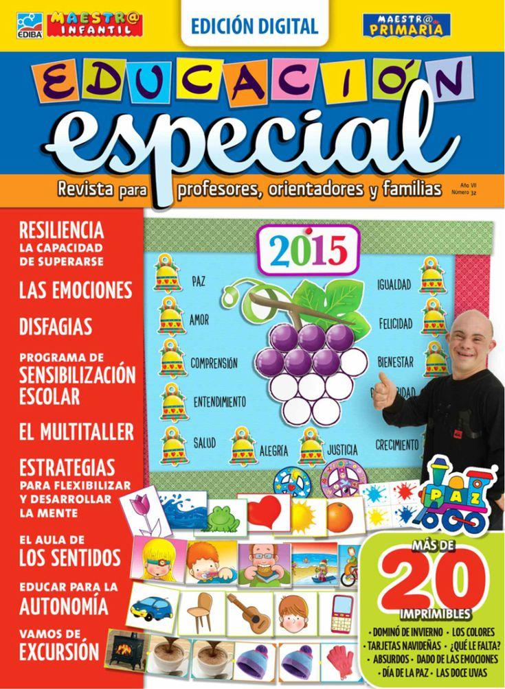 Ya está disponible en formato digital la revista Educación Especial, pensada para quienes trabajan en la inclusión de personas con necesidades educativas especiales. Consíguela con EDIBA Player - www.player.ediba.com
