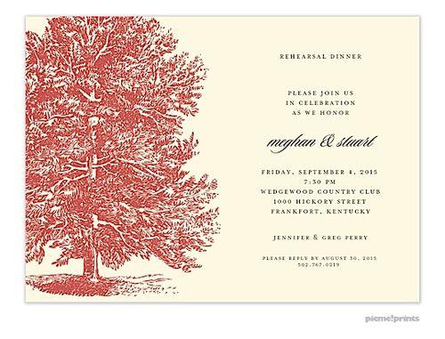 24 best Rehearsal Dinner Invitations images on Pinterest - free dinner invitations