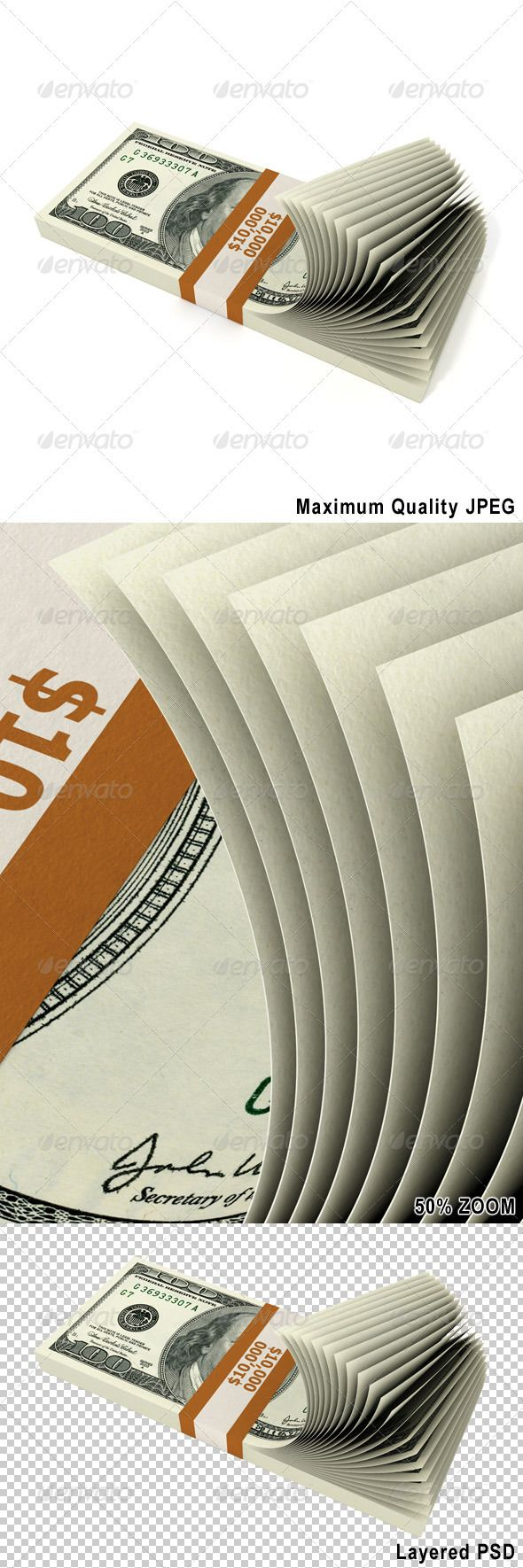 Stack of 10000 Dollars  #GraphicRiver         Stack of 10000 Dollars. Isolated on white. Included high quality JPEG and fully editable, layered PSD files.     Created: 3September12 GraphicsFilesIncluded: PhotoshopPSD #JPGImage HighResolution: No Layered: Yes MinimumAdobeCSVersion: CS PixelDimensions: 8000x5000 PrintDimensions: 26.6x16.6 Tags: 3d #bank #business #cash #coin #concepts #credit #currency #debt #dollars #finance #green #heap #investment #loan #million #money #render #savings…