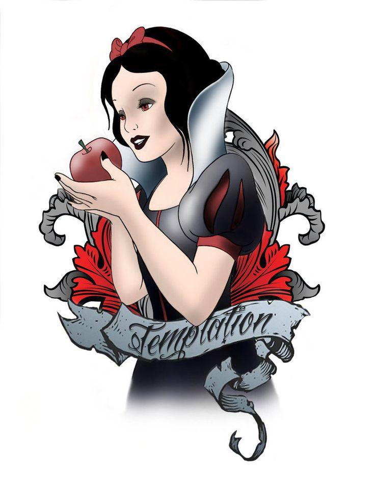 Love it. Snow White tattoo