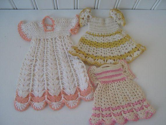 Crochet Pattern For A Doll : 1000+ ideas about Vintage Potholders on Pinterest ...