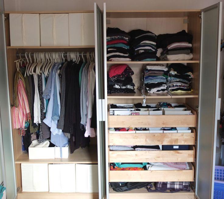 Kleiderschrank richtig sortieren – wie da geht und was man dabei beachten muss, lesen Sie hier.