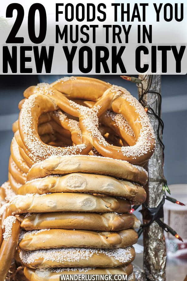 20 foods that you must try in New York City by a native New Yorker