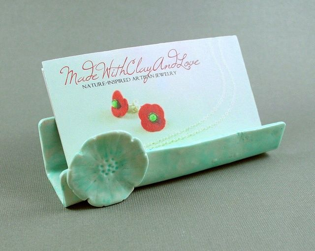 27 best pottery business card holders images on pinterest for Pottery business cards
