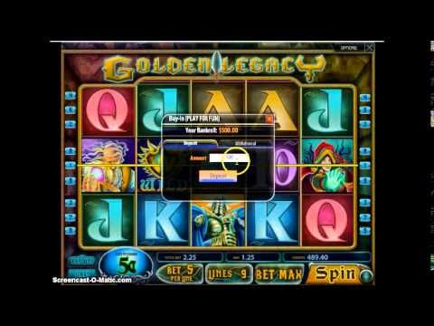 Defeat the evil powers and win big money Play Golden Legacy slot machine online at Betluck Casino. Get  free spins and 100% cash match on your first deposit. Watch the video to get best strategies to play the game!