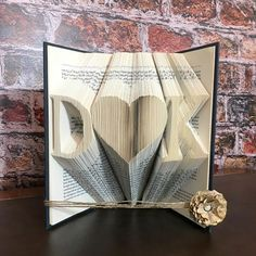 Paper Anniversary Gift For Wife, Monogrammed Gifts For Anniversary, Couple Initials Gift, Valentines Gift For Her, Boyfriend Gift Birthday