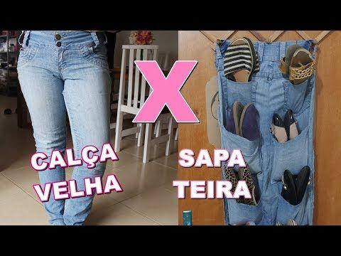 23df08016 58) SAPATEIRA de CALÇA JEANS VELHA - YouTube