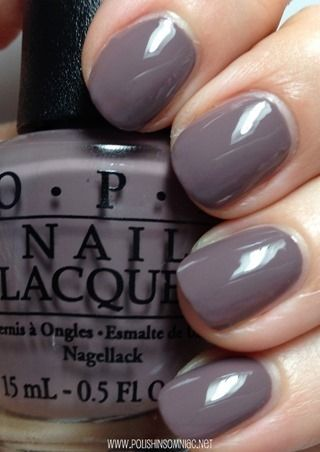 OPI I São Paulo Over There is a deeper taupe shade. Like Taupe-less Beach, this was perfect in two coats. I can't get over how awesome the formula is on these neutrals!