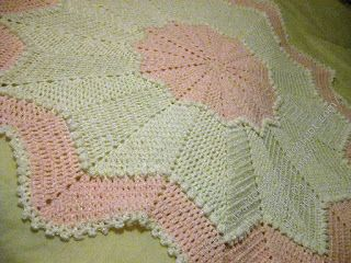 52 Best Afghans Round Ripple 8 Point Crochet Images On