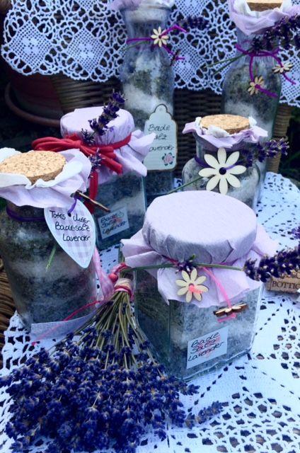 Totes Meer Badesalz mit Lavendel….Zur Entspannung!!!