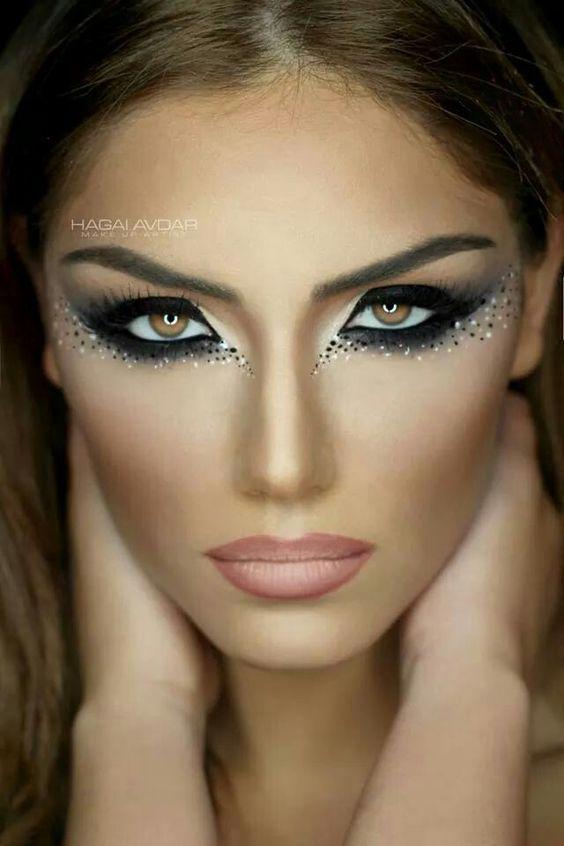 31 besten fasching bilder auf pinterest halloween makeup. Black Bedroom Furniture Sets. Home Design Ideas