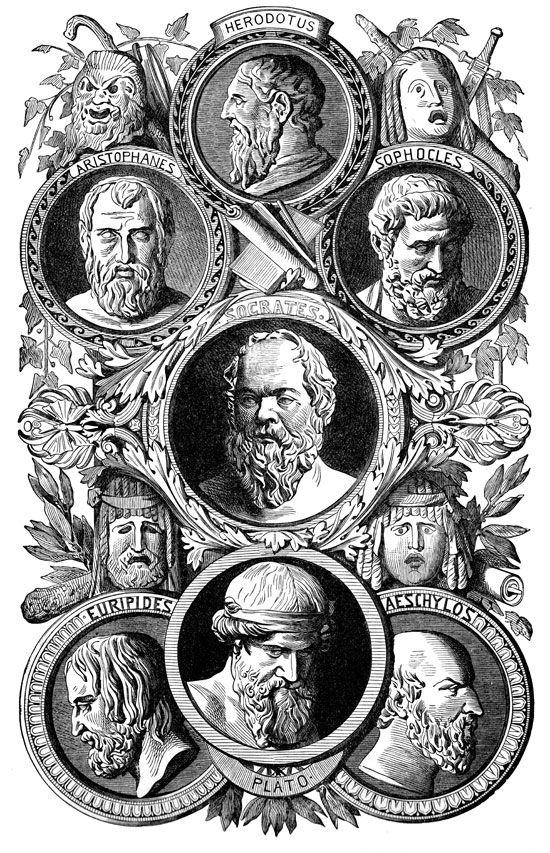 Greek Philosophers - Famous Greek Philosophers and Authors