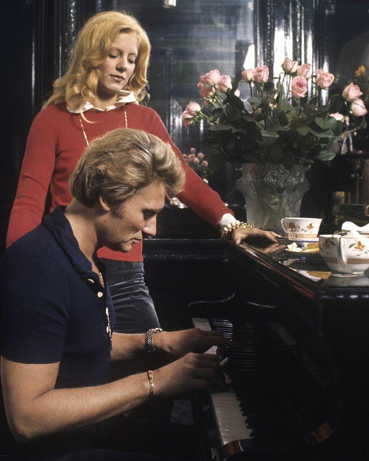 1975. Préparation du spectacle de Sylvie au Palais des Congrès