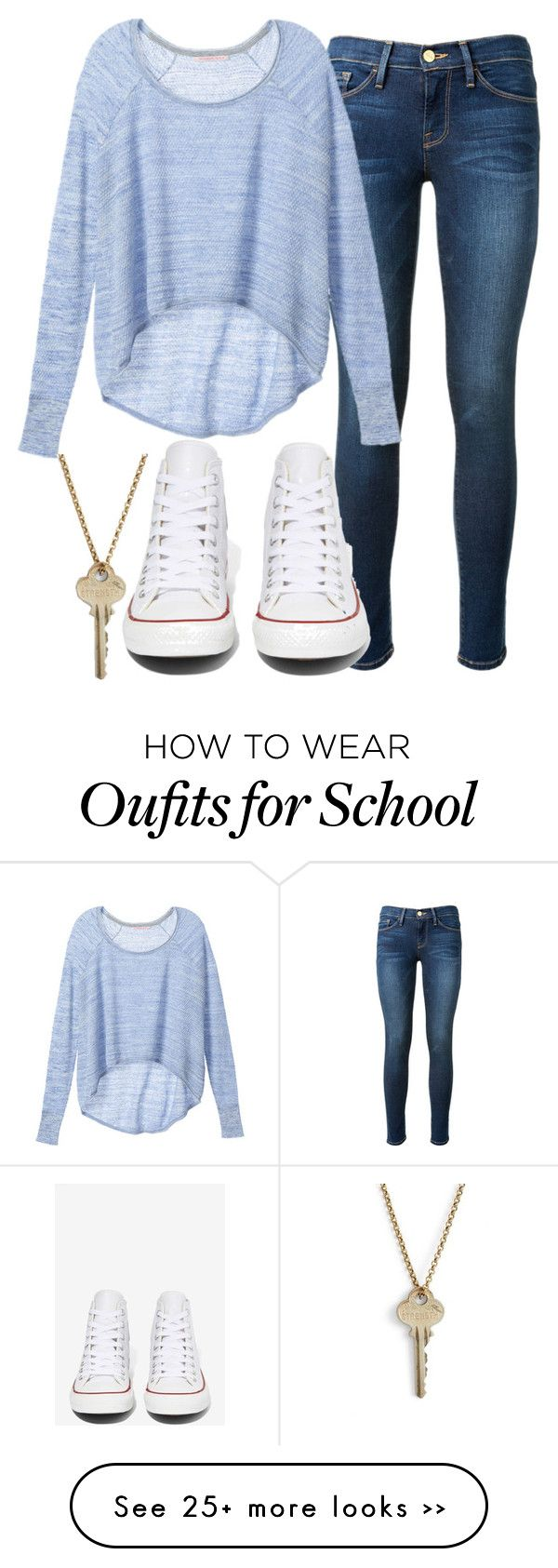 """school"" by heatherleefred on Polyvore"
